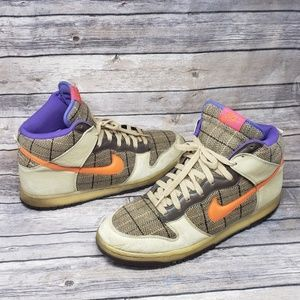 Nike Dunk High Premium Tweed